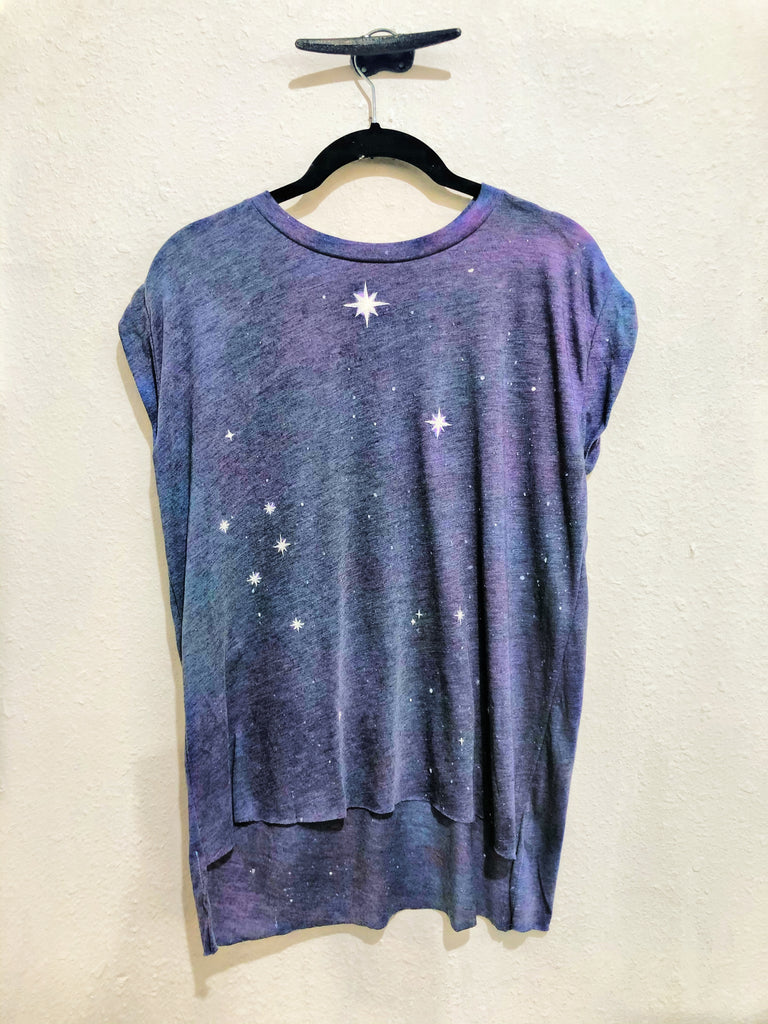 Belle + Day Starry Night Flowy Muscle Tee (Big Star)