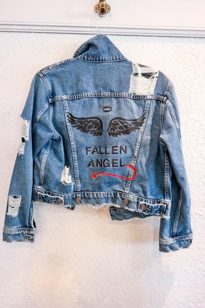 Belle + Day FALLEN Denim Jacket