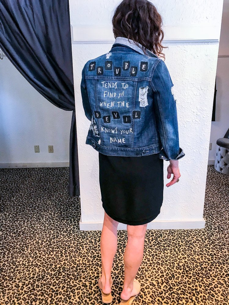 Belle + Day TROUBLE Denim Jacket