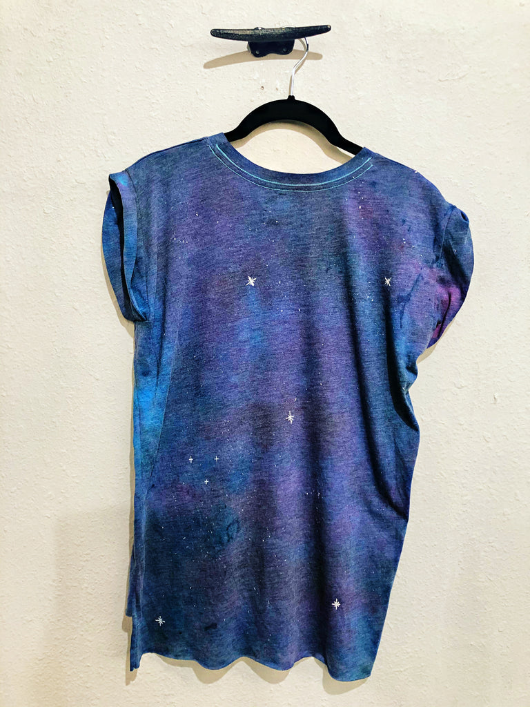 Belle + Day Starry Night Muscle Tee