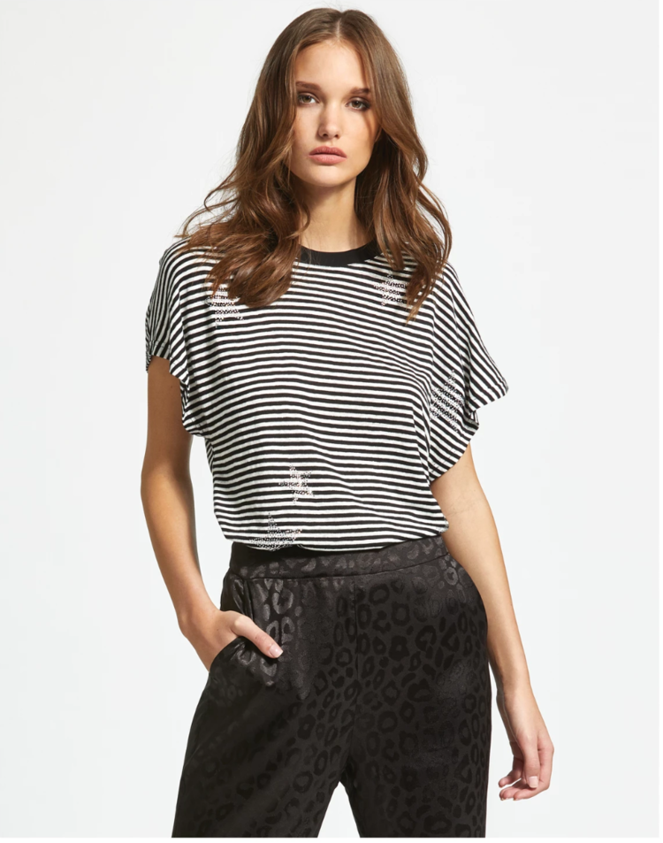 SEN STAR STRIPED TEE