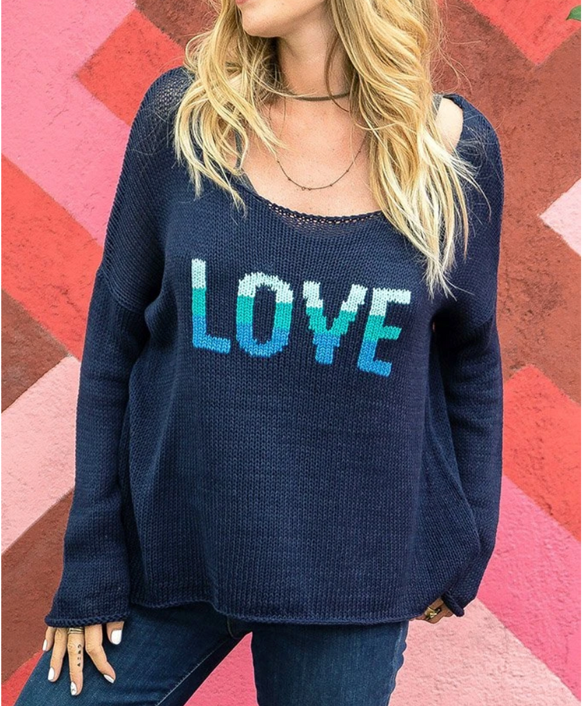 Wooden Ships Gypsy Love Crew Cotton Sweater