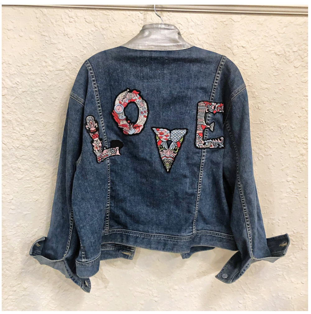 Belle + Day WONDERLOVE Denim Jacket