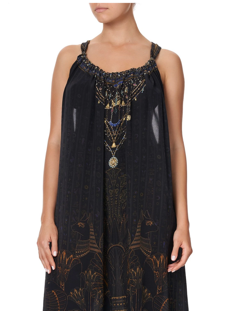 Camilla Cobra King Drawstring Dress