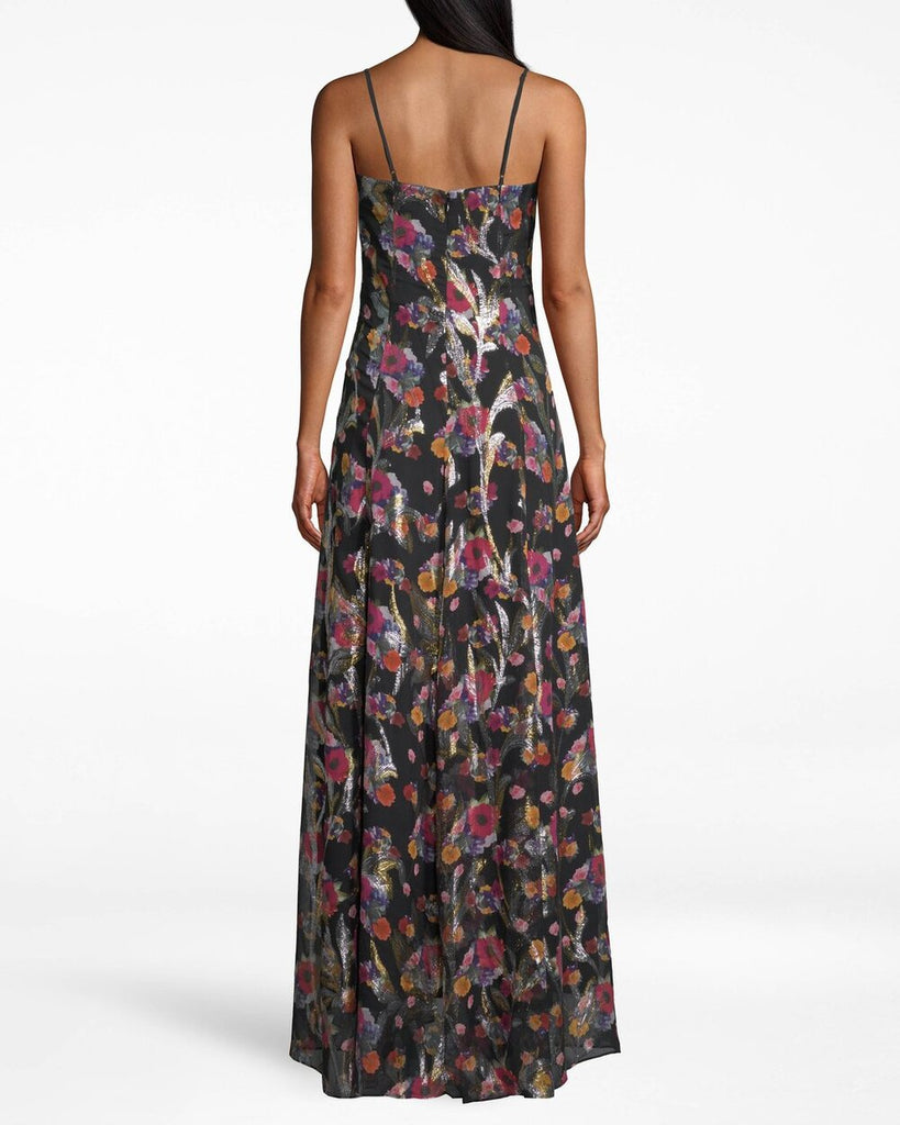 Nicole Miller Bouquet Beauty Angelina High Low Dress