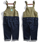 Outdoor Multi-pocket Split Joint Men's Cargo Pants