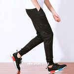 Camo Printing Elastic Waist Design Ankle Banded Pants