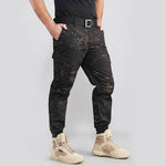 Urban Tactical Camo Ankle Banded Men's Pants