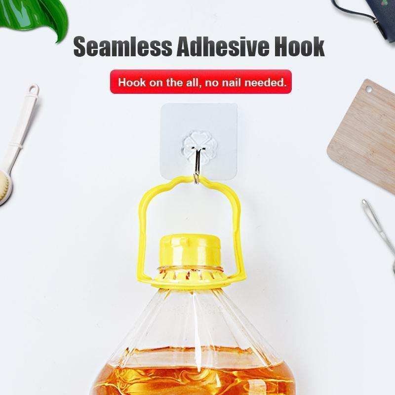 Seamless Adhesive Hook(10 Pcs)