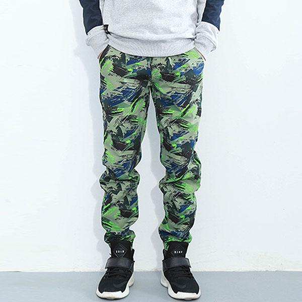 Sport Camo Loose Straight Men's Jogging Pants