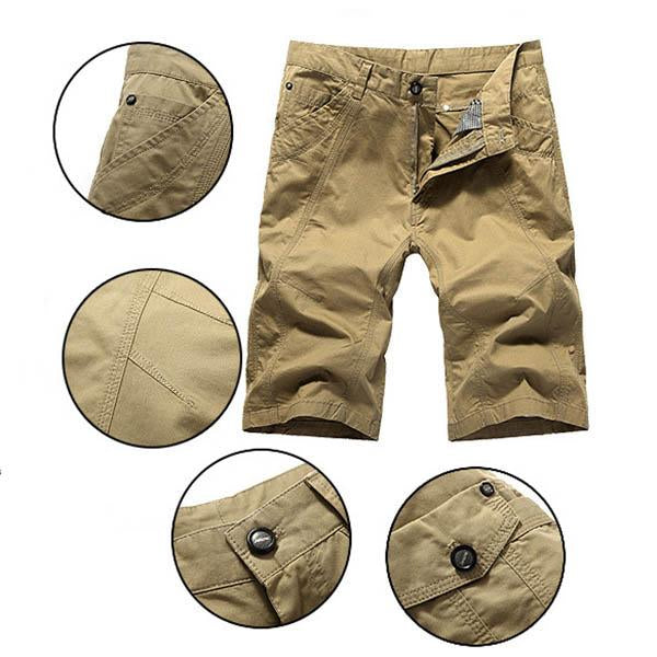 Fashion Casual Plus Size Straight Men's Shorts