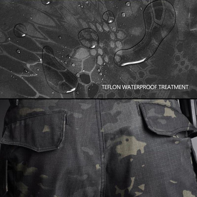 Outdoor Waterproof Camouflage Men's Pants