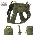 TACTICAL NO PULL DOG HARNESS-055