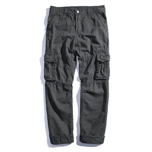 Washed Style Plus Size Loose Men's Harem Pants