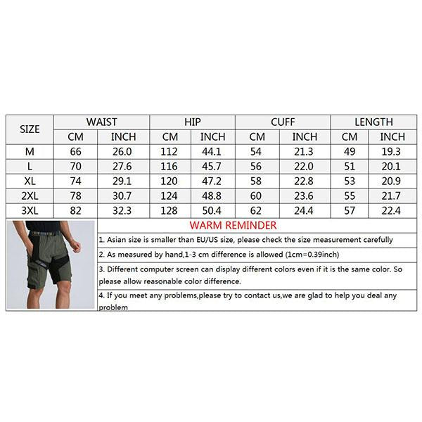 Sports Quick-drying Breathable Cycling Men's Shorts