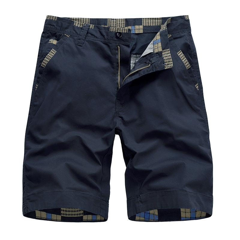 Loose Solid Color High-quality Men's Shorts