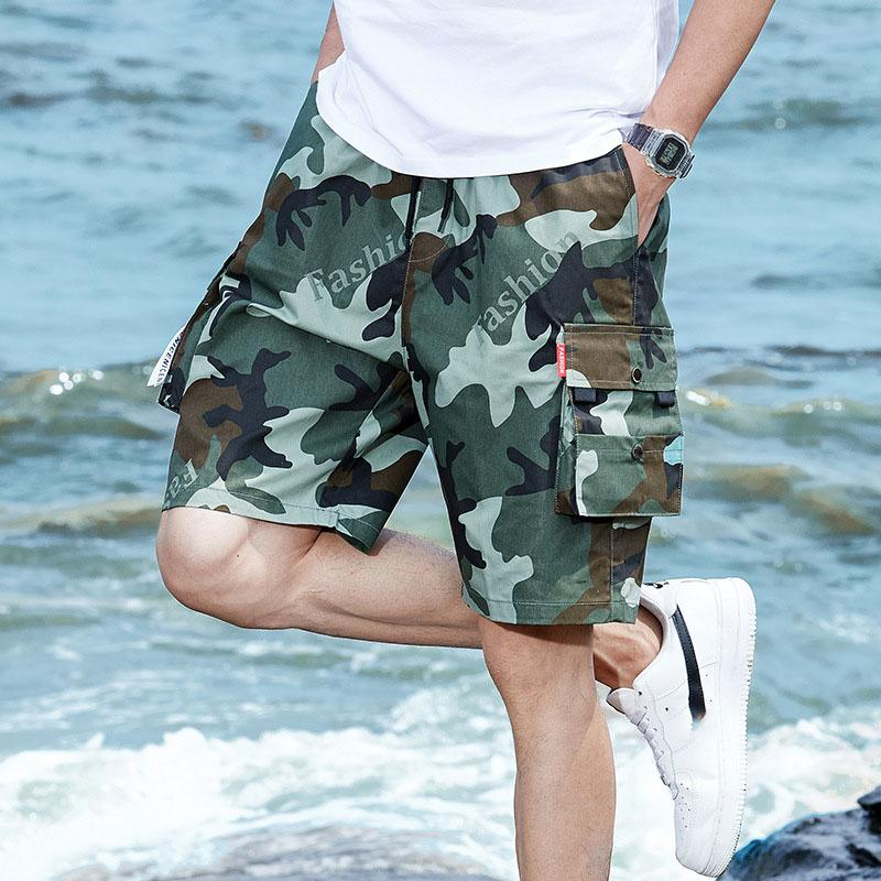 Summer Loose Beach Comfortable Plus Size Men's Shorts