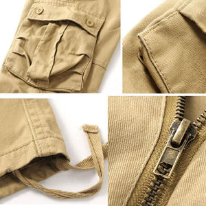 Outdoor Loose Wear-resistant Straight Multi-pocket Men's Pants