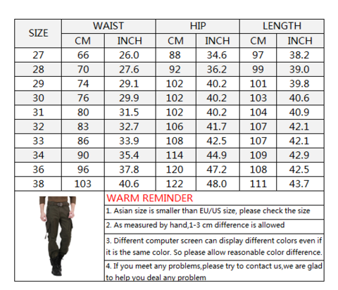 Multi-Pocket Casual Pure Cotton Men's Pants