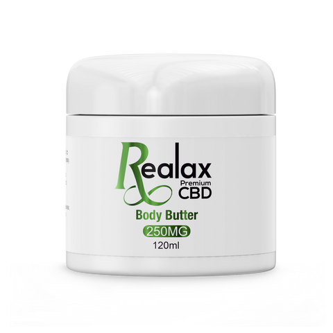 300MG CBD INFUSED BODY BUTTER - 120ML