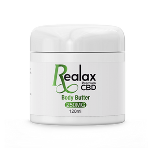 250MG CBD INFUSED BODY BUTTER - 120ML