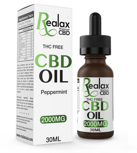 Broad Spectrum CBD Oil Tincture 1000mg Peppermint - 30ml