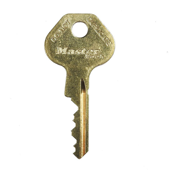 Master Lock K401 Duplicate Cut Key for W401 6-pin Safety Lockout Cylinders