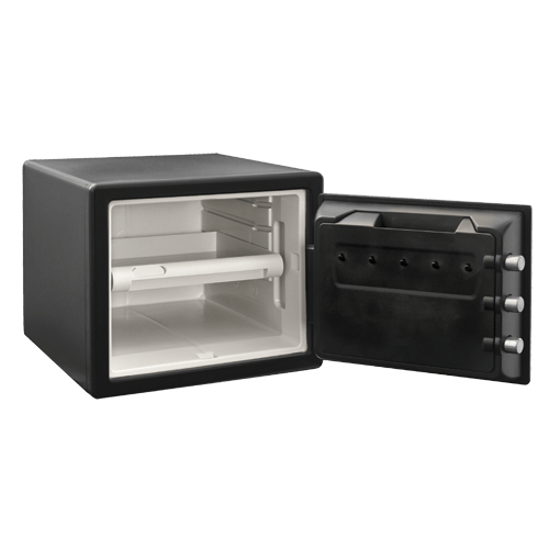Sentry® Safe SFW082CTB Combination Fire/Water Safe, .81 cu. ft.-HodgeProducts.com
