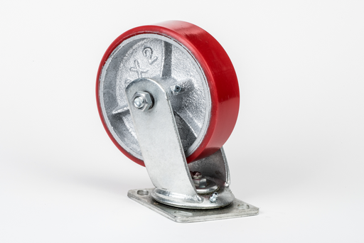 Hodge Products 90062SPU 6 x 2 Polyurethane Swivel Caster-HodgeProducts.com