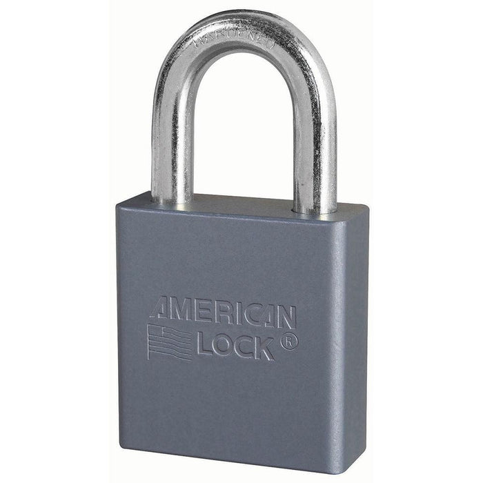 American Lock A10 Solid Aluminum Padlock 1-3/4in (44mm) Wide-Keyed-HodgeProducts.com
