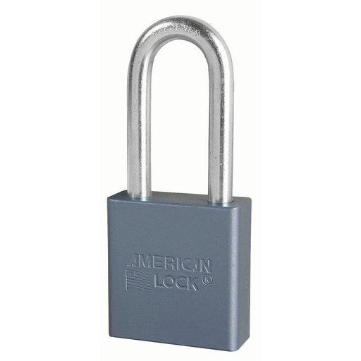American Lock A11 1-3/4in (44mm) Solid Aluminum Padlock with 2in (51mm) Shackle-Keyed-HodgeProducts.com
