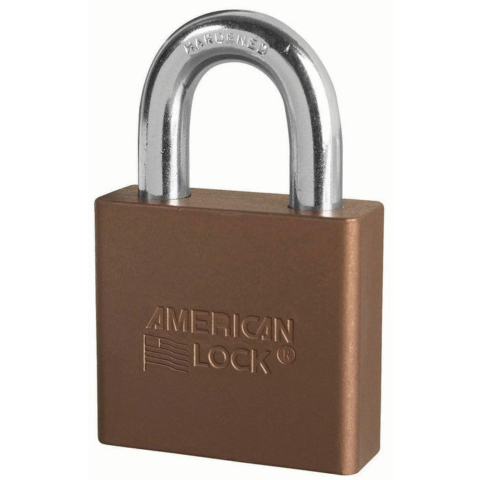 American Lock A1305 Solid Aluminum Rekeyable Padlock 2in (51mm) Wide