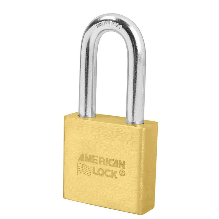 American Lock A5571 2in (51mm) Solid Brass Padlock with 2in (51mm) Shackle