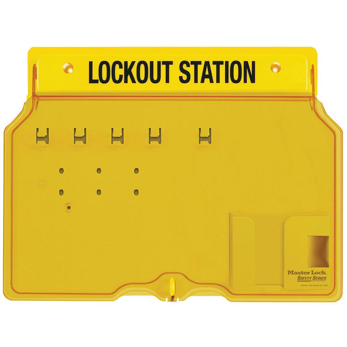 Master Lock 1482 4-Lock Padlock Station, Unfilled-Other Security Device-HodgeProducts.com