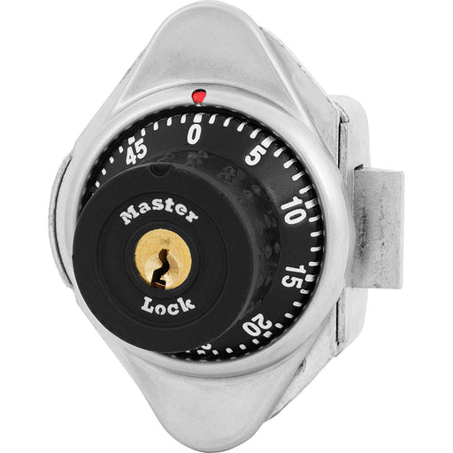 Master Lock 1653MD Built-In Combination Lock with Metal Dial for Single Point Latch Lockers - Hinged on Left-HodgeProducts.com