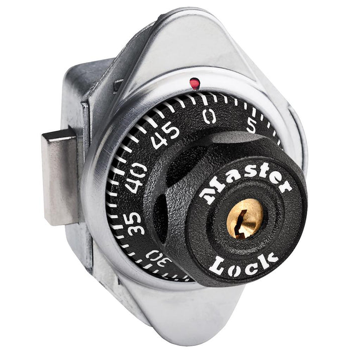 Master Lock 1670 Built-In Combination Lock for Lift Handle, Single Point and Box Lockers - Hinged on Right-Combination-HodgeProducts.com
