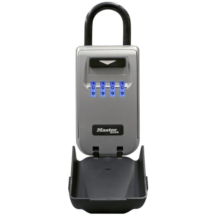 Master Lock 5424D Set Your Own Combination Light Up Dial Portable Lock Box 2-7/8in (72mm) Wide-Combination-HodgeProducts.com