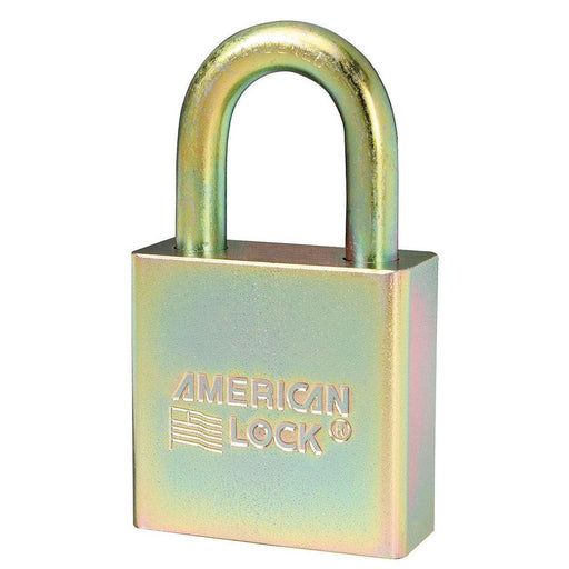 Master Lock A5200GLN Government Padlock, with 1-1/8in (28mm) Tall Shackle NSN: 5340-01-588-1036-Keyed-HodgeProducts.com