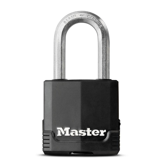 Master Lock M115XDHC 1-7/8in (48mm) Wide Magnum® Covered Laminated Steel Padlock-HodgeProducts.com
