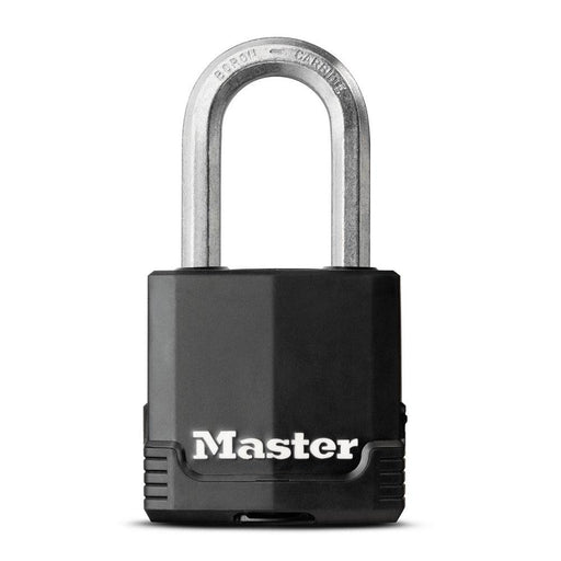 Master Lock M115XD 1-7/8in (48mm) Wide Magnum® Covered Laminated Steel Padlock-HodgeProducts.com