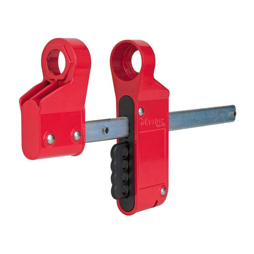 Master Lock S3922 Blind Flange Lockout Device, Small-Other Security Device-HodgeProducts.com