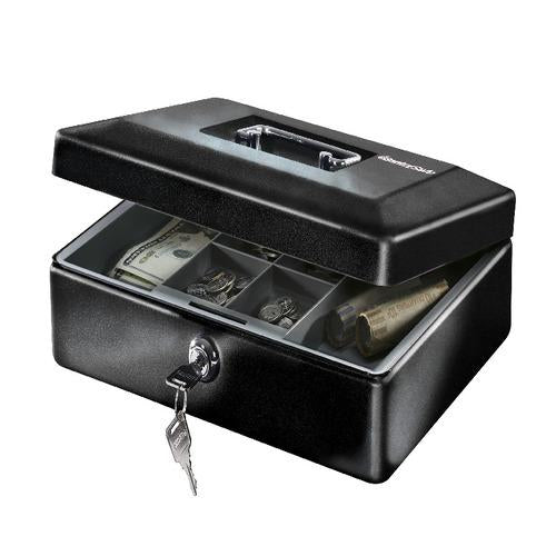 Sentry® Safe CB-12 Cash Box, Key Lock, .21 cu. ft.