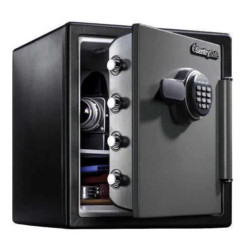 Sentry® Safe SFW123ES Fire Water Safe, Digital Lock, Shelf, 1.2 cu. ft.-HodgeProducts.com