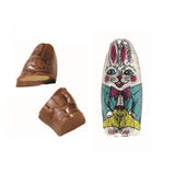 Peanut Butter Milk Chocolate Foiled Bunnies