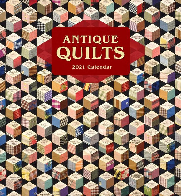 Antique Quilts 2021 Wall Calendar