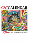 B. Kliban: CatCalendar 2021 Engagement Calendar