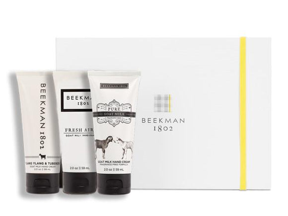 Beekman 1802 Clear as Day 3-piece Hand Cream Sampler