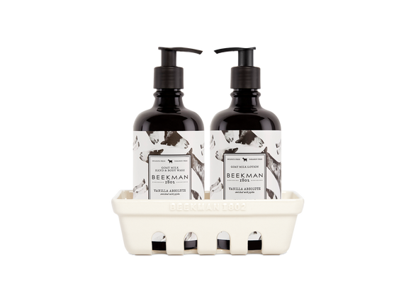 Beekman 1802 Vanilla Absolute Caddy Set