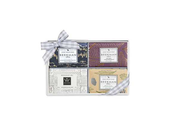Beekman 1802 Winter Fields  4-Piece Travel-Size Bar Soap Set