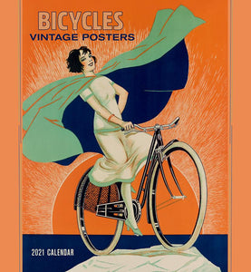 Bicycles: Vintage Posters 2021 Wall Calendar